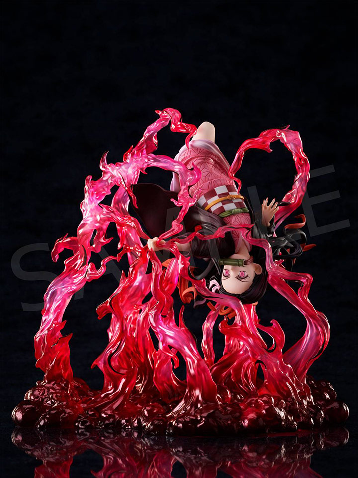 Demon Slayer: Kimetsu no Yaiba Nezuko Kamado <Exploding Blood> 1/8 Scale Figure
