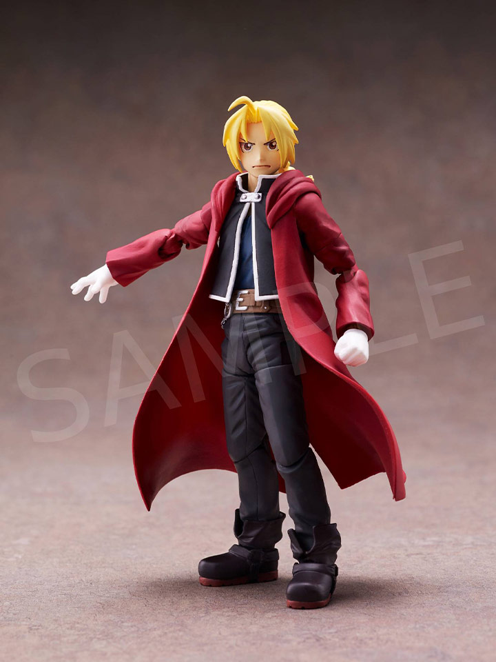 [BUZZmod.] Edward Elric 1/12 Scale Action Figure